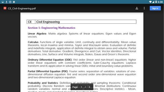 Civil Engineering Books +Civil Gate Study Material screenshot 3