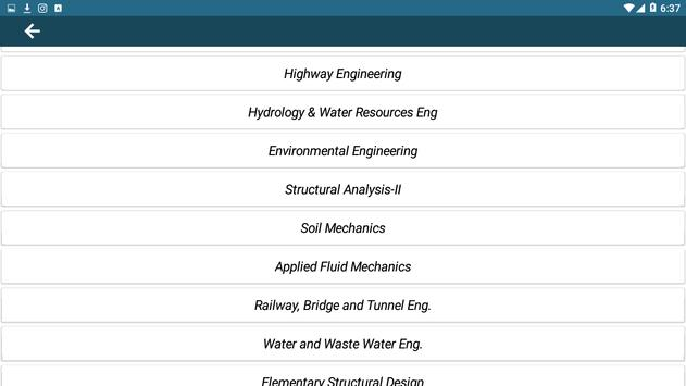 Civil Engineering Books +Civil Gate Study Material screenshot 2