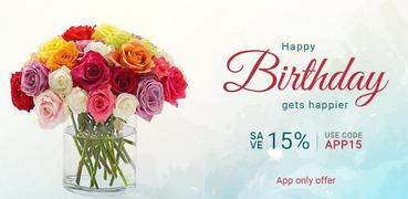 Ferns N Petals: Flowers, Cakes, Gifts Delivery App