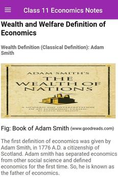 NEB Class 11 Economics Notes screenshot 2