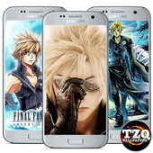 Cloud Strife Fan Art wallpaper icon