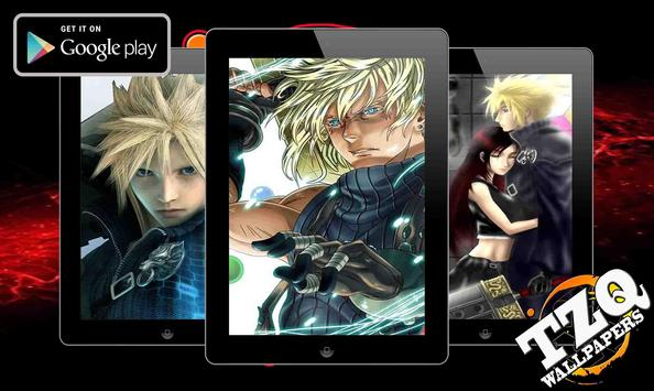 Cloud Strife Fan Art wallpaper screenshot 3