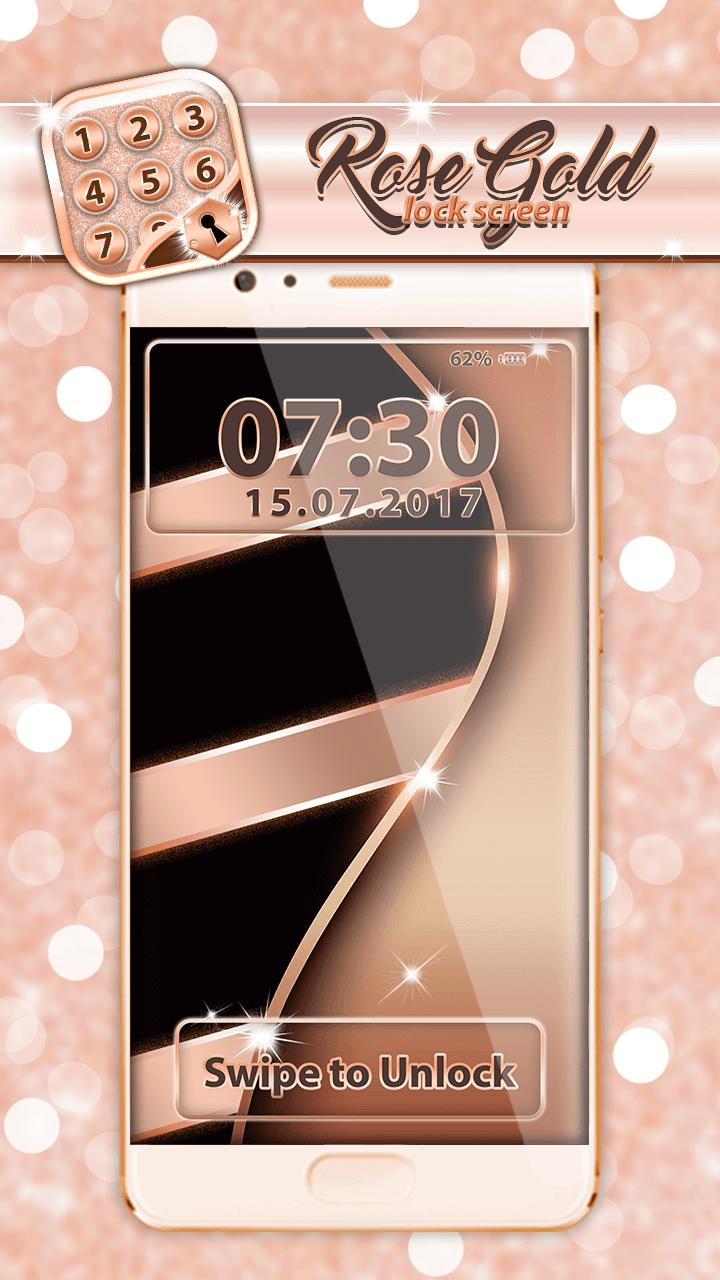 Rose Gold Lock Screen For Android Apk Download