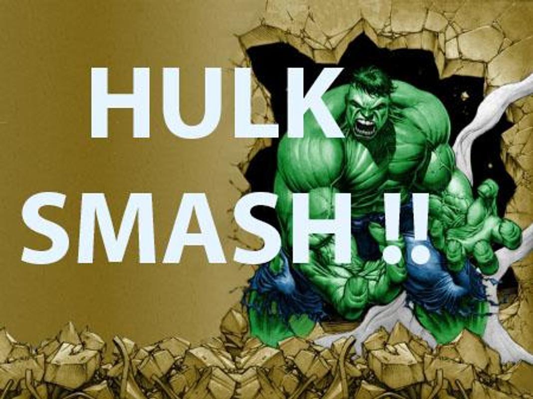 Free Hulk Smash Games