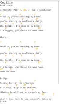 Pickin' and Grinnin' Songbook screenshot 2