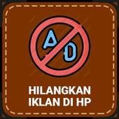Cara Menghilangkan Iklan di HP icon