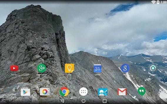 Panorama Wallpaper: Mountains2 poster