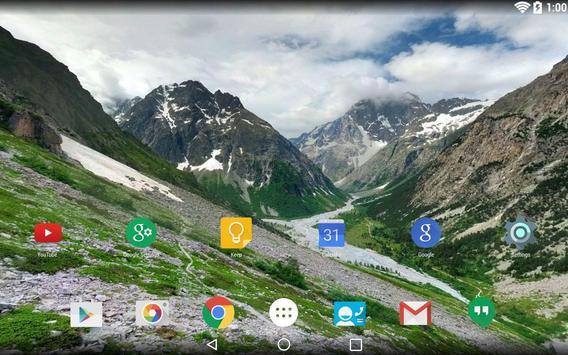 Panorama Wallpaper: Mountains2 screenshot 10