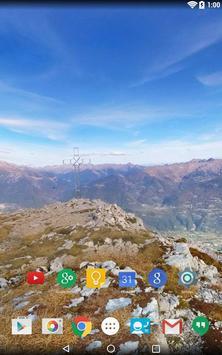Panorama Wallpaper: Mountains2 screenshot 14