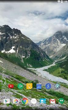 Panorama Wallpaper: Mountains2 screenshot 16