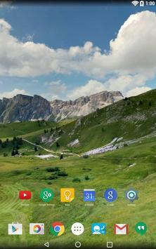 Panorama Wallpaper: Mountains2 screenshot 17
