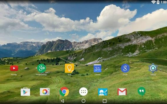 Panorama Wallpaper: Mountains2 screenshot 5