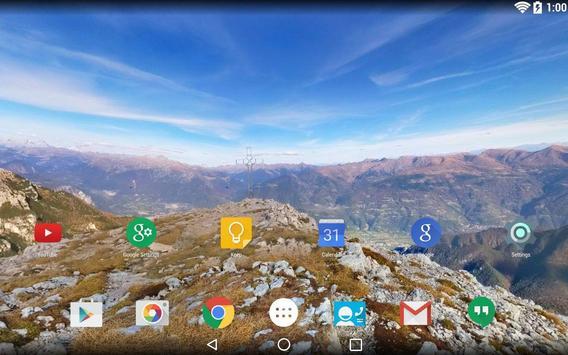 Panorama Wallpaper: Mountains2 screenshot 8