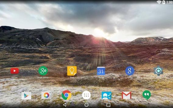 Panorama Wallpaper: Mountains2 screenshot 9