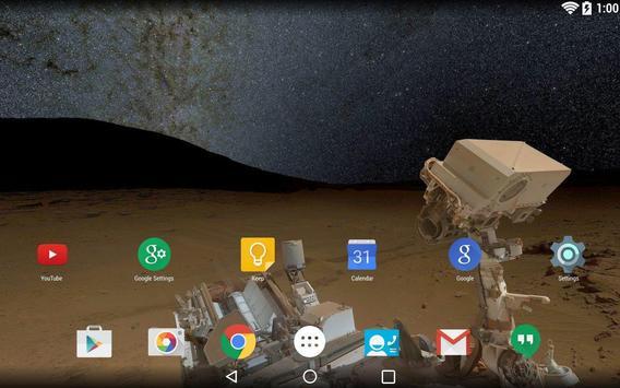 Panorama Wallpaper: Space screenshot 1
