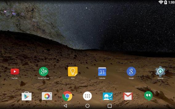 Panorama Wallpaper: Space screenshot 3