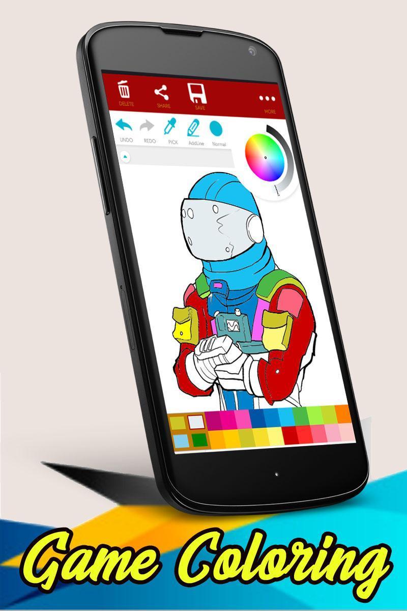Android Icin Boyama Video Oyunu Karakterleri Apk Yi Indir
