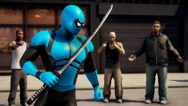 POWER SPIDER : Ultra Superhero Parody Game screenshot 1