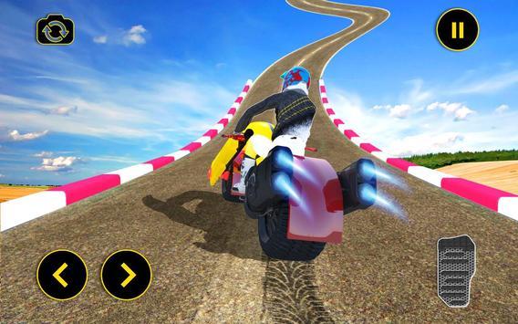 Vertical Mega Ramp Bike Stunt Simulator screenshot 11