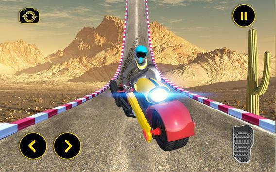 Vertical Mega Ramp Bike Stunt Simulator screenshot 2
