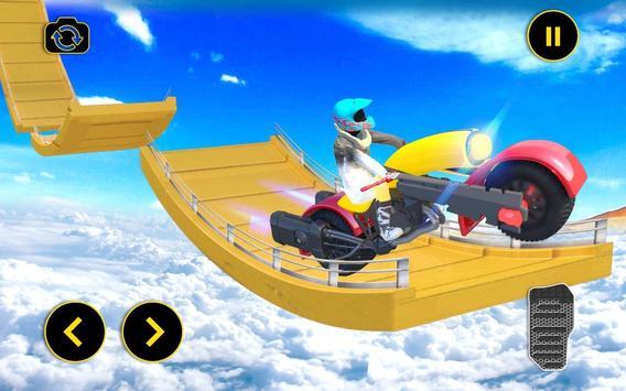 Vertical Mega Ramp Bike Stunt Simulator screenshot 5