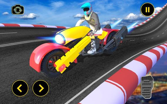 Vertical Mega Ramp Bike Stunt Simulator screenshot 8