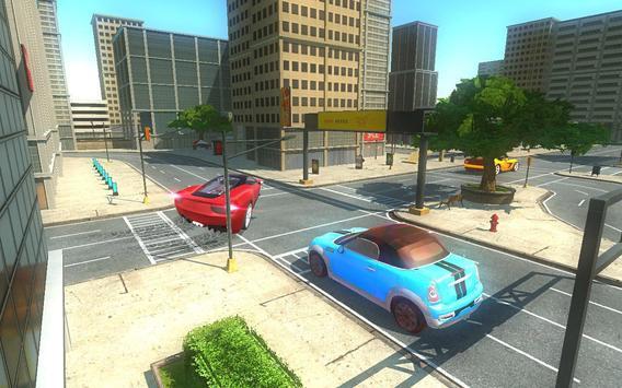 Futuristic Flying Car Taxi Simulator Driving screenshot 14