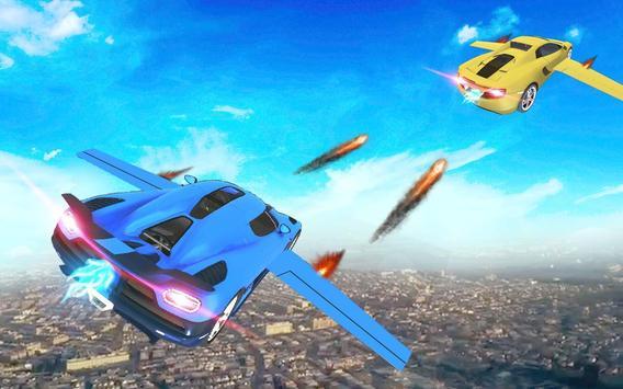 Futuristic Flying Car Taxi Simulator Driving screenshot 1