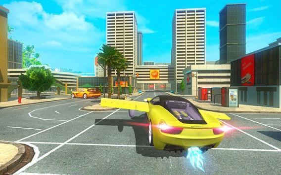 Futuristic Flying Car Taxi Simulator Driving screenshot 2