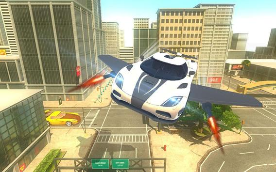 Futuristic Flying Car Taxi Simulator Driving screenshot 8