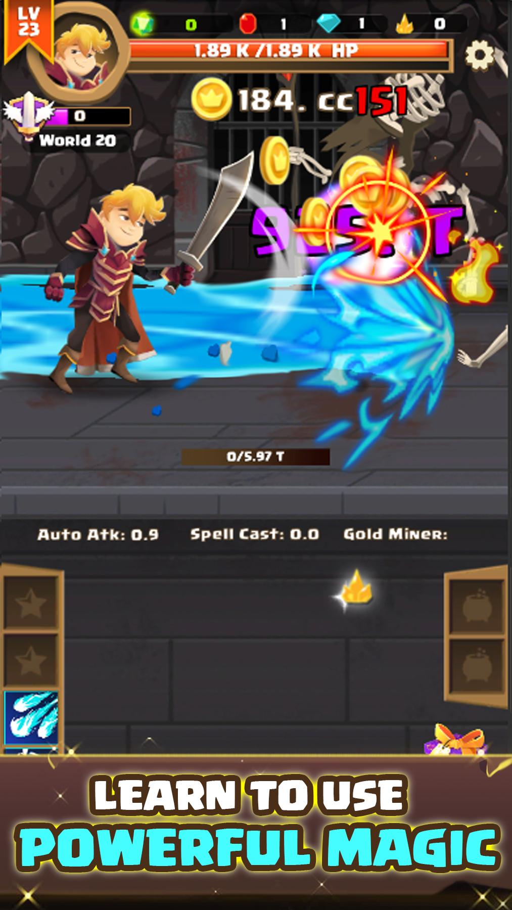 Clicker Knight: Incremental Idle RPG for Android - APK Download