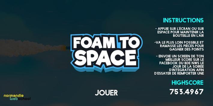 FOAM TO SPACE screenshot 5