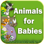 Animals for Babies - Toddlers learning app icon
