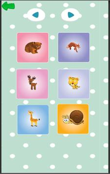 Animals for Babies - Toddlers learning app screenshot 9