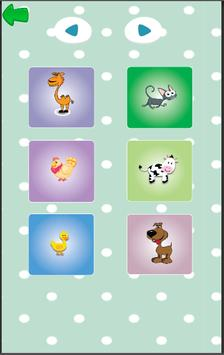 Animals for Babies - Toddlers learning app screenshot 1