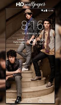 Jonas Brothers Wallpaper HD screenshot 7