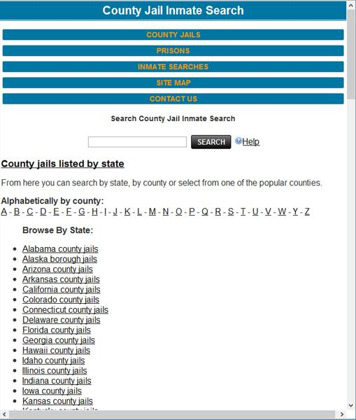 County Jail Inmate Search for Android - APK Download