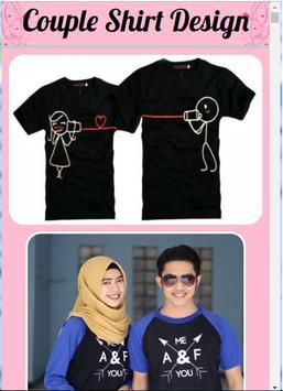 Couple Shirt Design poster