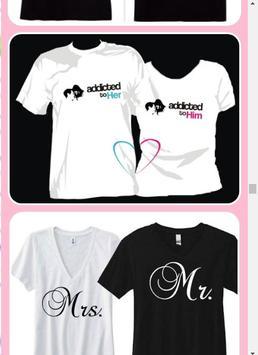 Couple Shirt Design screenshot 1