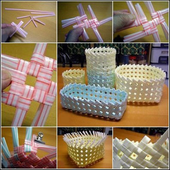 Crafts from Straws DIY icon