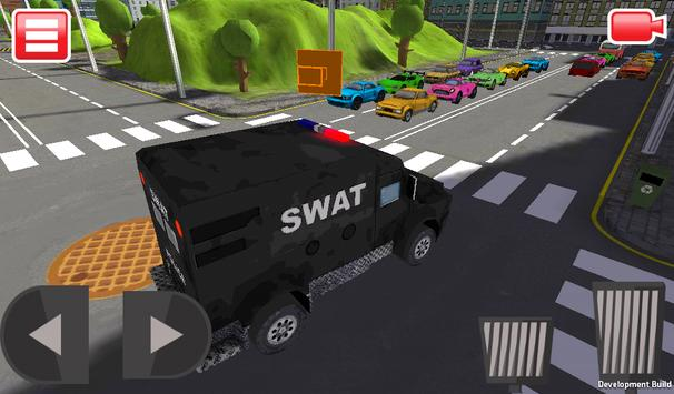 SWAT Police Car Driver 3D screenshot 10