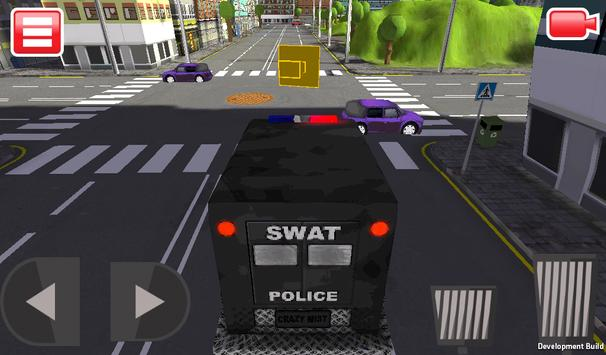 SWAT Police Car Driver 3D screenshot 12