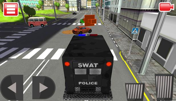 SWAT Police Car Driver 3D screenshot 7