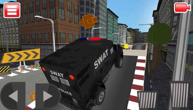 SWAT Police Car Driver 3D screenshot 6