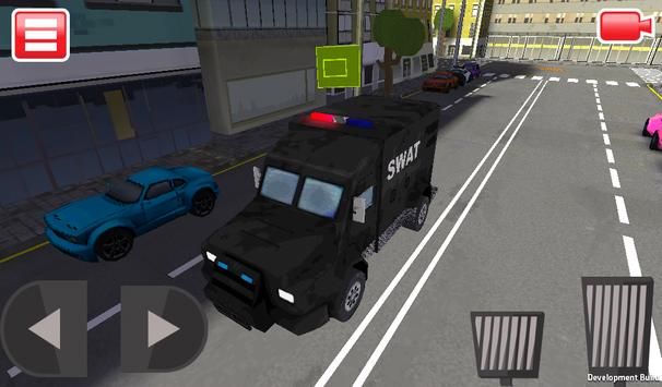 SWAT Police Car Driver 3D screenshot 9