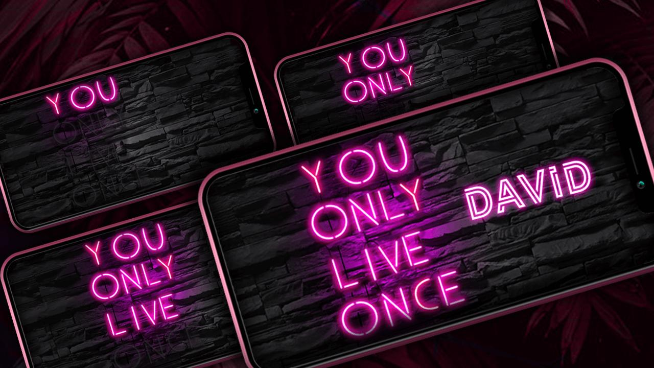 Neon Lights - Text Photo Editor for Android - APK Download