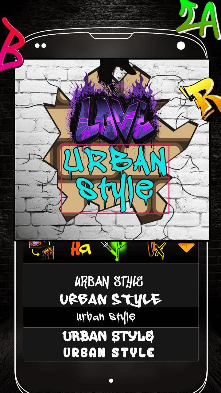 Graffiti Logo Maker App for Android - APK Download