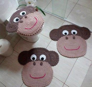 Crochet Bath Set Ideas Simple screenshot 2