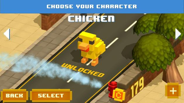 Crossy Chicken Endless Arcade poster