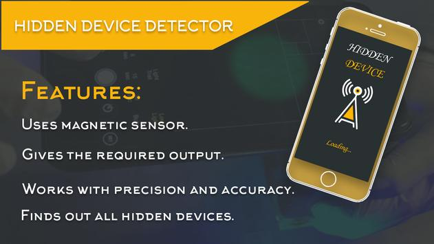 Hidden Device Detector poster